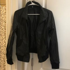 Urban outfitters leather jacket